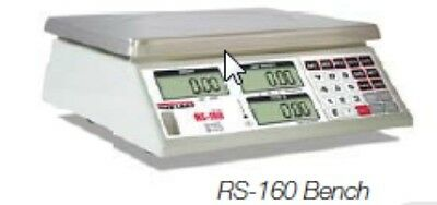 60 LB x 0.02 LB Rice Lake NTEP Price Computing Scale & Rechargeable Battery NEW