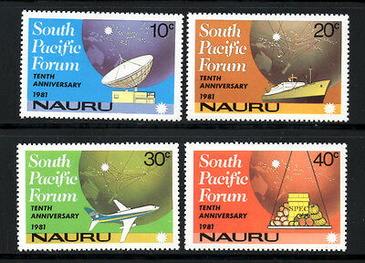 (Ref-6817) Nauru 1981 South Pacific Forum  SG.252/255  Mint (MNH)