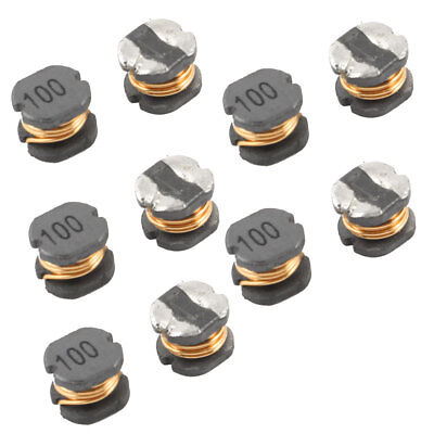 10 Pcs 0.1Ohm 1.44A 10% SMD Coil Inductors CD54 10uH 5.8mmx5.2mmx4.5mm