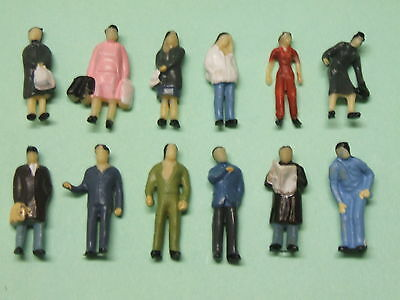 Lot 12 Personnages Debouts Ho 1/87 Neuf