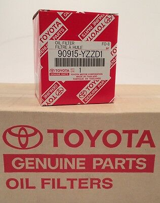 Engine Oil Filter-Filter-Oil GENUINE TOYOTA  90915-YZZD1 90915-YZZG1