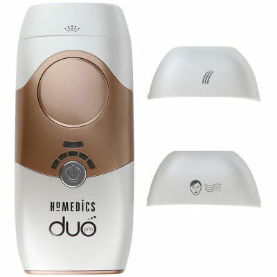 Homedics Duo Pro Permanent IPL Body/Facial Hair Removal & Rejuvenation Unisex