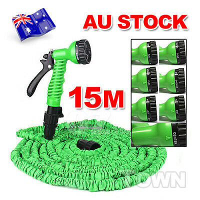 15M 50Ft Pocket Self Expanse Expandable Water Garden Flexable Stretch Magic Hose