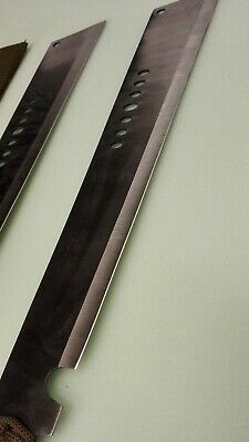 Fantacy Full Tang Eagle Eye Sharp Machete With Saw 002