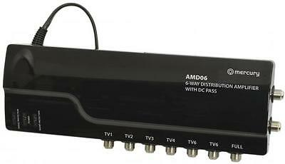 Mercury 130.032 Mains Powered Signal Distribution Amplifier With DC Pass 7 Out