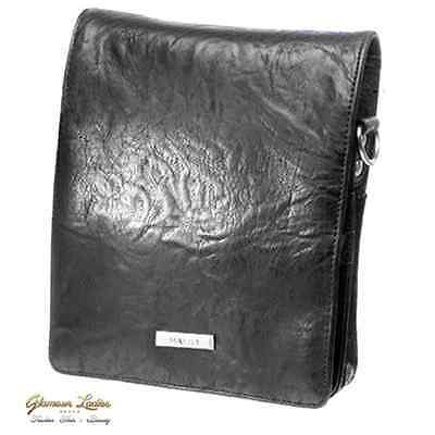 Hairdressing Tool  Pouch - Black Haito, Leather Effect Professional, Salon Use