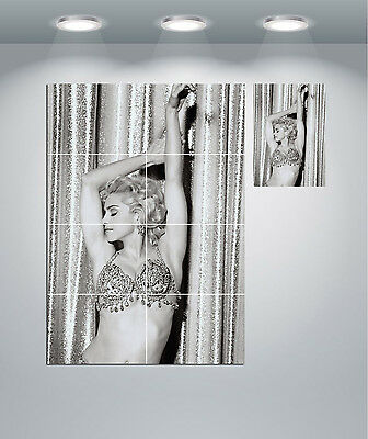 Madonna Pin Up Pose Giant Wall Art Poster Print