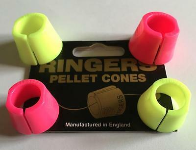 Brand New Ringers Pellet Cones - 2 Sizes - Pack of 4