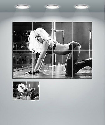 Sin City Pin Up Jessica Alba Stripper Giant Wall Art Poster Print