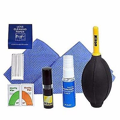 7 in 1 Lens Cleaning Kit Brush Air Brower for Canon Nikon Pentax Camera DSLR