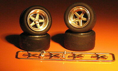 RACING GOTTI WHEELS FOR PORSCHE 934 and other Gr4 cars REMEMBER W103 1:43