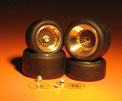 RACING BBS WHEELS FOR PORSCHE 935 Gr5 and IMSA cars REMEMBER W104 1:43