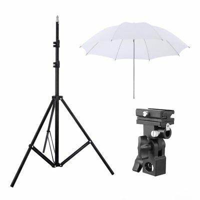 W803 Light Stand+Flash Bracket Mount+Umbrella/Flash Speedlite Accessories Kit