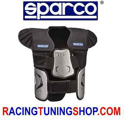 Corpetto Paracostole Sparco Spk-7  Rib Protection Vest Chaleco De Karting