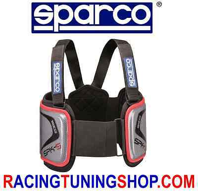 Corpetto Paracostole Sparco Spk-5  Rib Protection Vest Chaleco De Karting