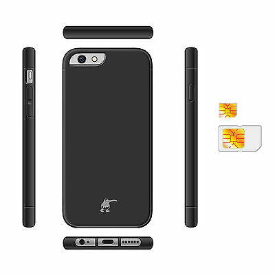 KiWiBiRD® Dual SIM Adapter with Protective Case for Apple iPhone 6S Plus
