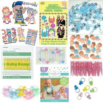 Baby Shower Party Favours Table Decorations Gifts Cake Toppers