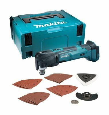 Makita DTM51ZJX7 18V Multi Tool (Bare Unit + Case & Accessories)