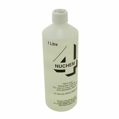 GENUINE Numatic NUCHEM 4 Carpet and Upholstery Cleaning Fluid 500 ml