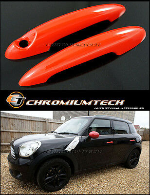 MINI Cooper/S/ONE R61 Paceman R58 Coupe R59 Roadster RED Door Handle Covers