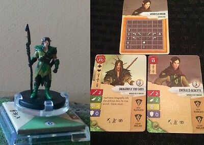 Wizkids Dungeons & Dragons Attack Wing OP Kit Miniature Human Druid Dragonfly