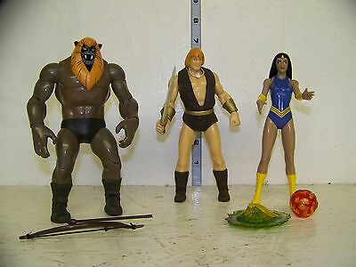 Thundarr the Barbarian Figure Set of 3  LOOSE Special 24 Hour Sale