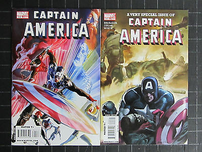 Captain America 2005 #30 To 50 + 600+601 23 Nm Bks,after Cap's Death Brubaker