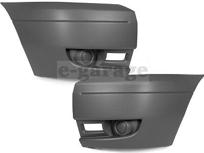 Ford Transit MK7 2006 - 2014 Front Bumper Cap Side Corner Pair Left & Right