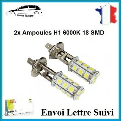 2x Ampoule H1 26 Led 1210 SMD Blanc 6000K Xenon Lampe Phare Feux Tuning