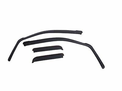 EGR 571395 Set of 4 Black In-Channel Window Visors for Colorado/Canyon Crew Cab