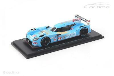 "Nissan GT-R LM Nismo - LMP1 ""Manchester City"" 2015 - Spark - 1:43 - S4561"