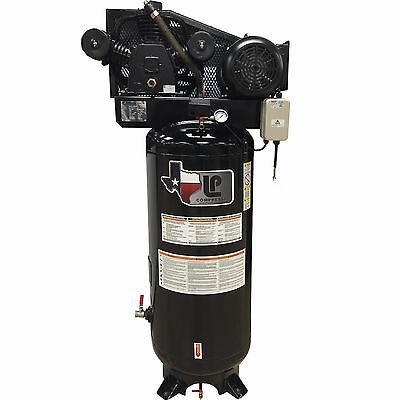 5-HP Two-Stage Air Compressor with Magnetic Starter 60-Gallon - 21 CFM @ 90 PSI