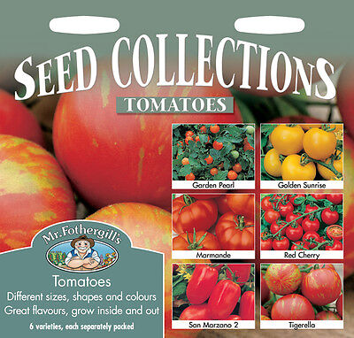 Mr Fothergills Tomato Seed Collection