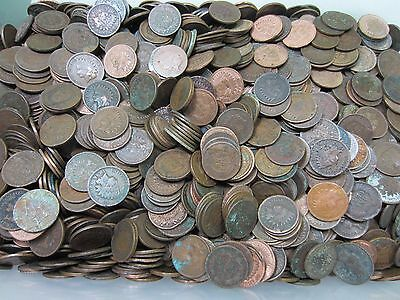 (50) Indian Head Penny Roll // 1800's-1900's // 50 Coins // Low Grade + BONUS