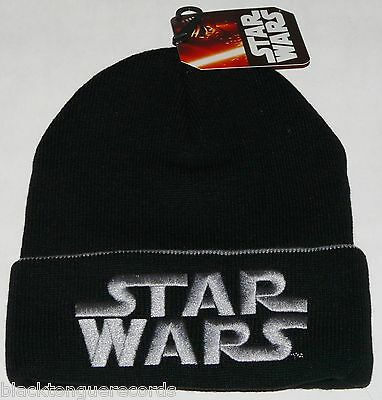 Star Wars Official Disney Logo Kids Junior Beanie Hat New Official Shop Item