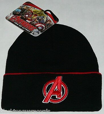 Avengers Official Marvel Licensed Kids Junior Beanie Hat New Official Shop Item