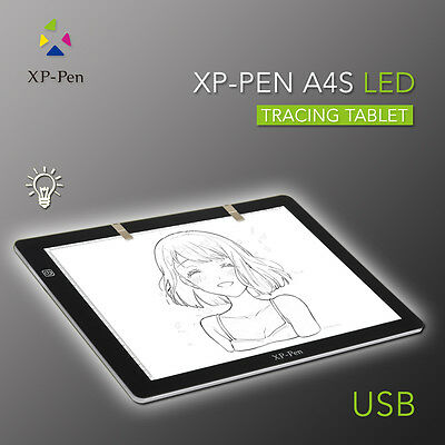 "XP-Pen 18""LED Tracing Light Pad Light Box Drawing Table with USB Cable  US Plug"