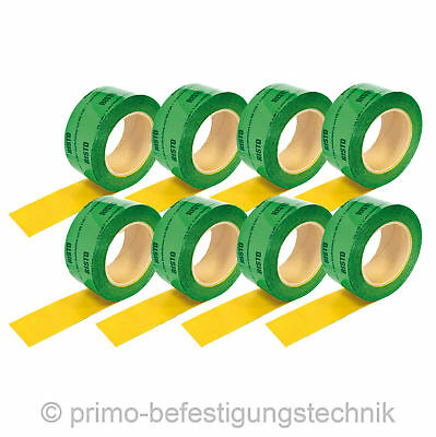 8 Roll(60mmx200m) Self-adhesive polypropylene fabric-base tape Vapour Barrier