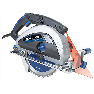 Evolution Evo230 230Mm Extreme Steel Cut Saw 1750 Watt - 240V - 110V