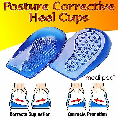 MEDIPAQ Posture Heel Levelling Foot Supports Angled Correct Pronation Supination