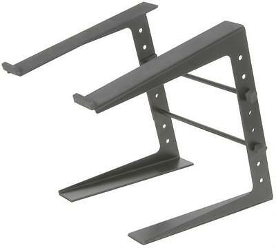 Citronic 180.263 Compact Laptop Stand Adjustable 5 Height Settings DJ Mix Black