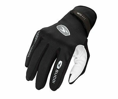 Sugoi RSR Race Glove Large Black/White Running NEW