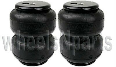 """AirLift Dominator D2500 Two Air Bags Single Port 1/2""""npt Air Springs Suspension"""