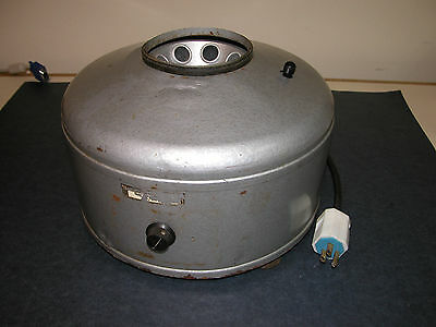 IEC 8-well Centrifuge w/ Rotor, variable speed, tested in good working order