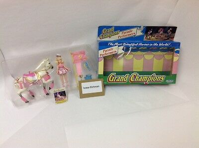 Grand Champions 1993 Marchon Parade Performers 50032 Lippizaner Horse Play Set