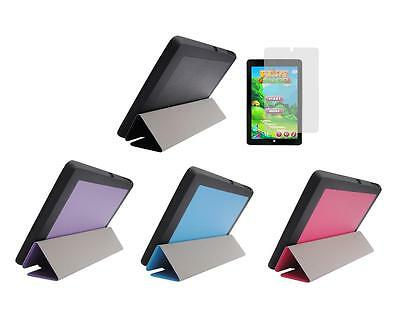 "Slim Folio Cover Case + Screen Protector for Insignia Flex Windows 8.9"" Tablet"