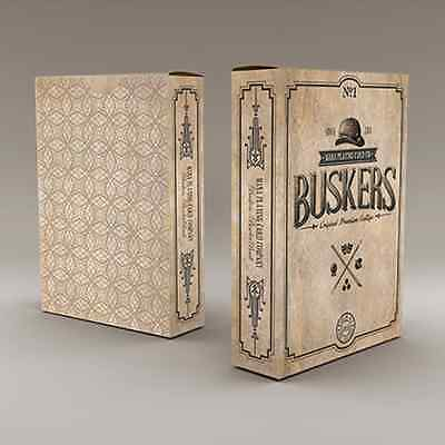 Buskers Playing Cards Poker Size Deck USPCC Custom Limited Edition Sealed Mana