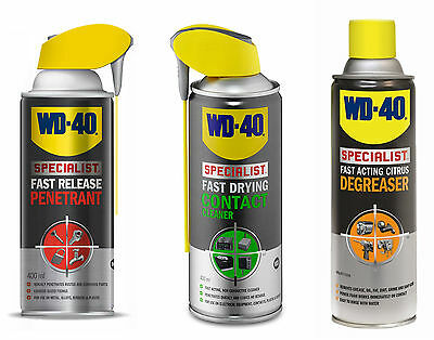 WD40 Specialist PENETRANT, CONTACT CLEANER AND DEGREASER 400ML