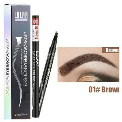 Waterproof Microblading Tattoo Eyebrow 3D Pen Brown Colour Long lasting Colour