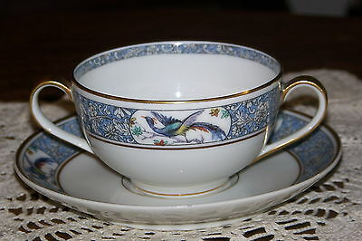 Theodore Haviland - Limoges, France - Rani - Bouillon Cup and Saucer Set